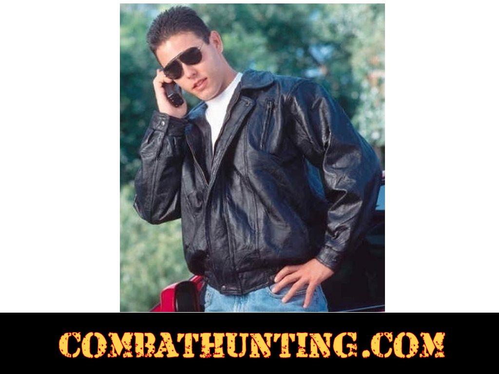 7a50bbfbf Italian Mosaic Design Genuine Leather Jacket