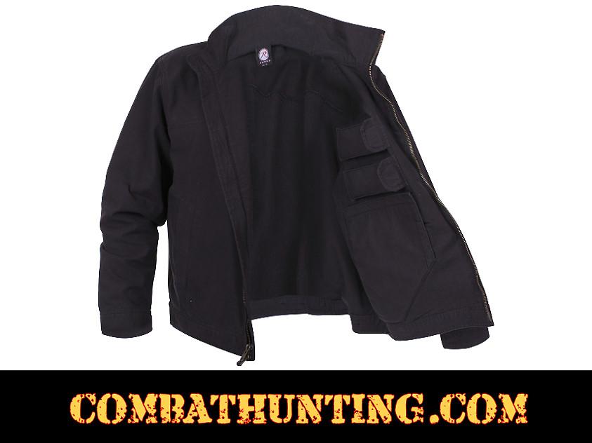 59585 Lightweight Concealed Carry Jacket Color Black ...