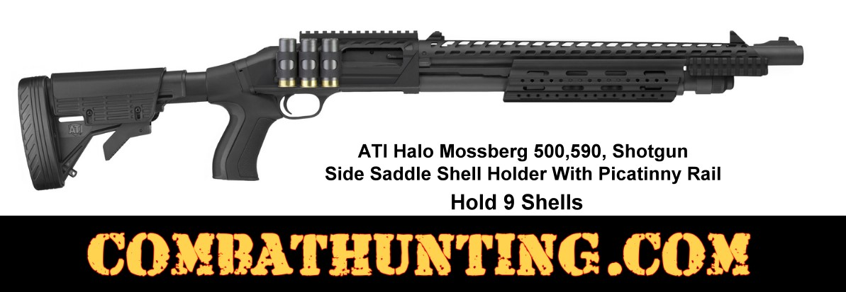 Mossberg 500 590 Side Saddle With Rail And Shell Holder style=