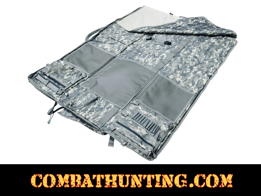 Rifle Case Shooters Mat Digital Camo style=