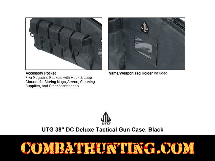 Deluxe Tactical Gun Case Size 38