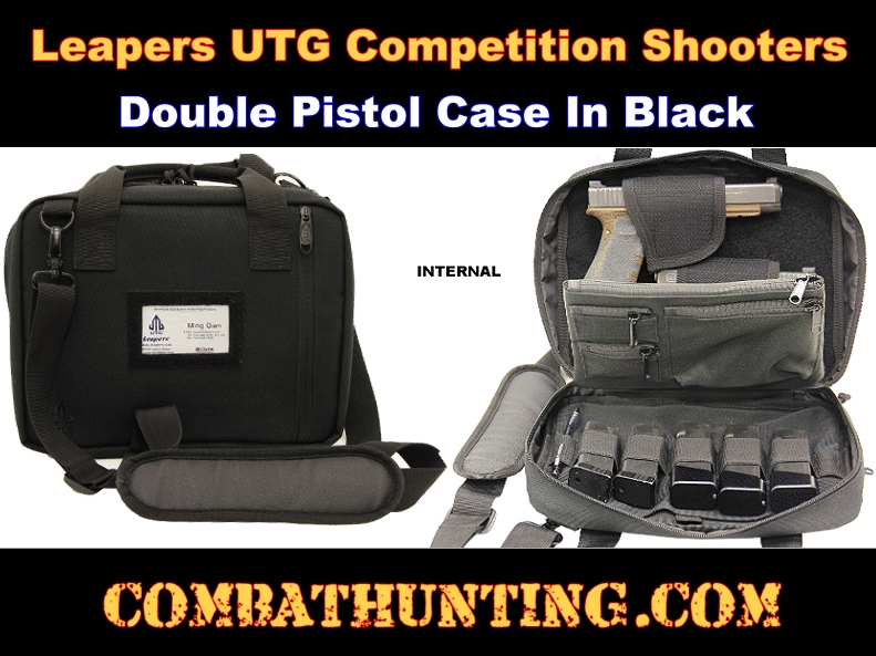 Leapers UTG Competition Shooters Double Pistol Case style=