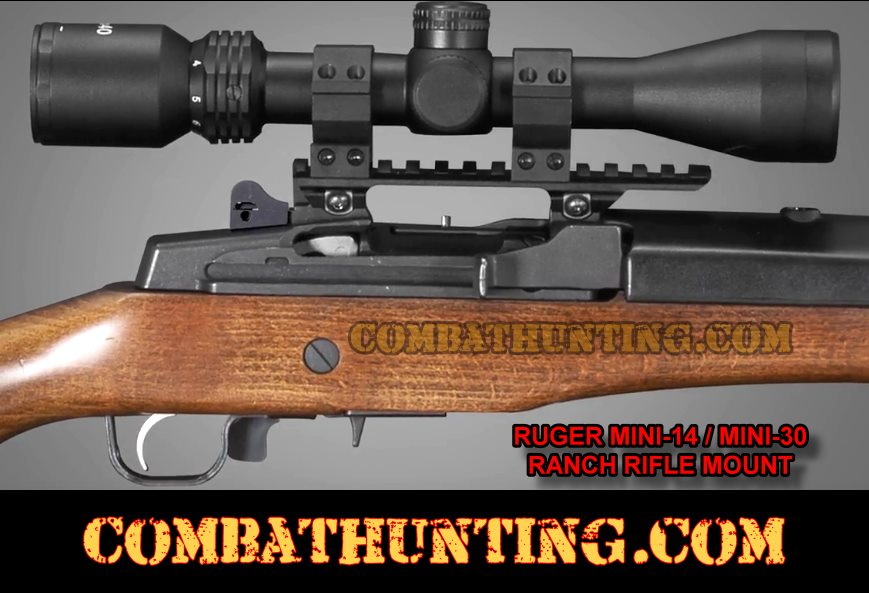 Ruger Mini-14 Mini-30 Ranch Rifle Scope Mount style=