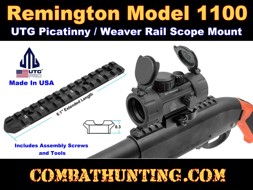 Remington 1100 Scope Mount Rail style=