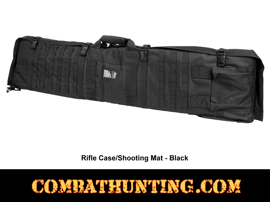 Rifle Case Shooters Mat Black style=