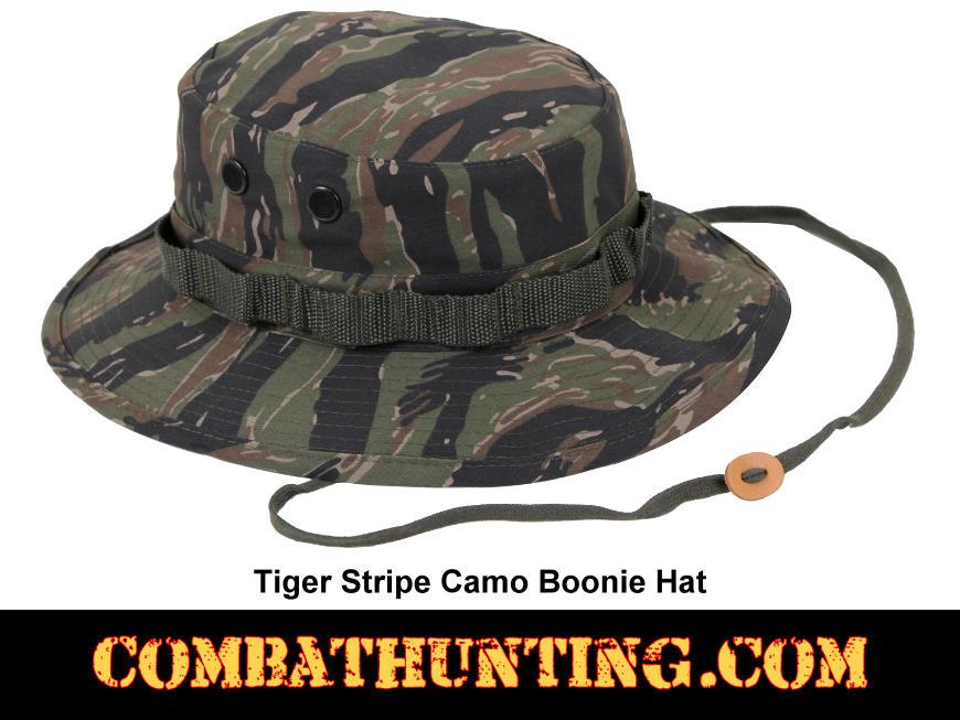 Tiger Stripe Camo Boonie Hat dfd3f76e717