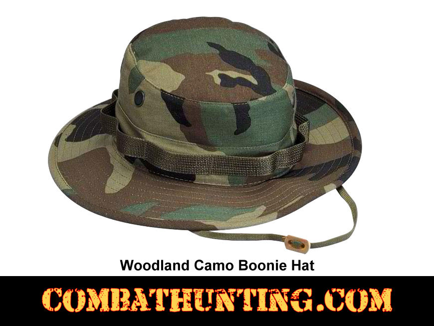 5800 Woodland Camo Military Style Boonie Hat - Boonie Hats 6908844f8fa