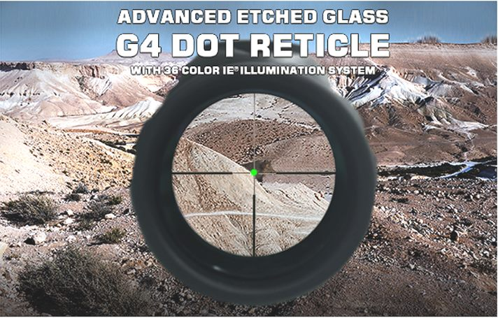 UTG 4-16X56 30mm Scope, AO, 36-color IE G4 Dot Reticle style=