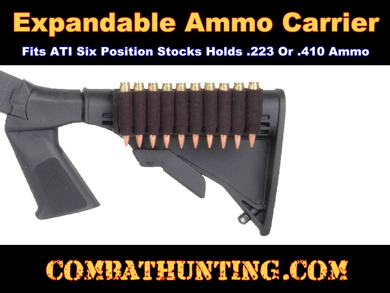 ATI Expandable Ammo Carrier For .410 shotguns & Rifles style=