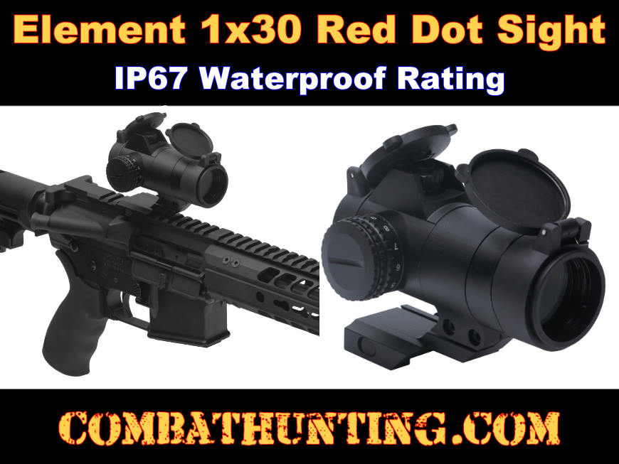 Sightmark Element 1x30 Red Dot Sight style=