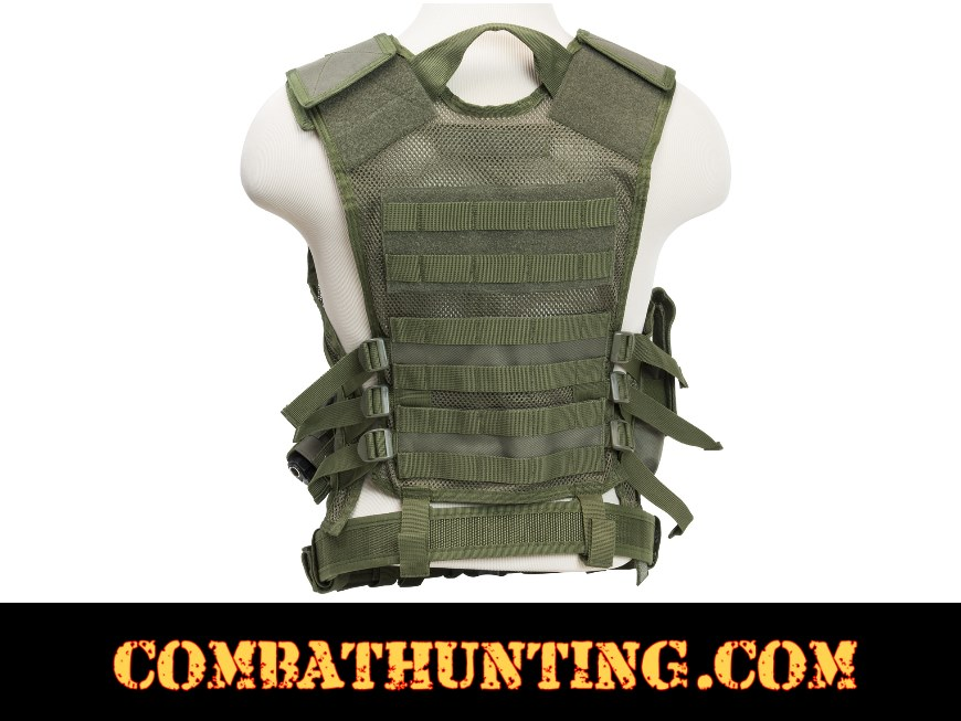 Ncstar Military Green Tactical Vest 2X style=