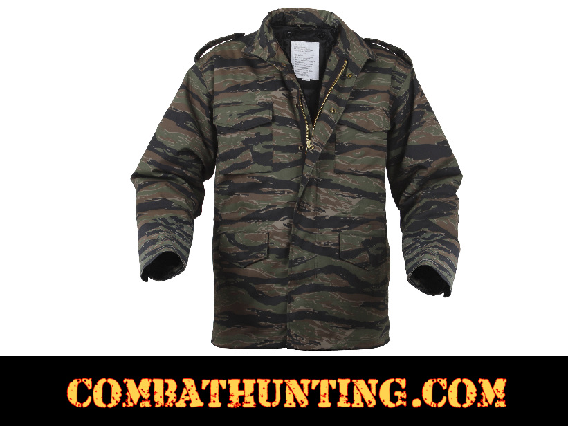 58a9efce55a70 8715-MO Tiger Stripe Camo M-65 Field Jacket - Military Outerwear