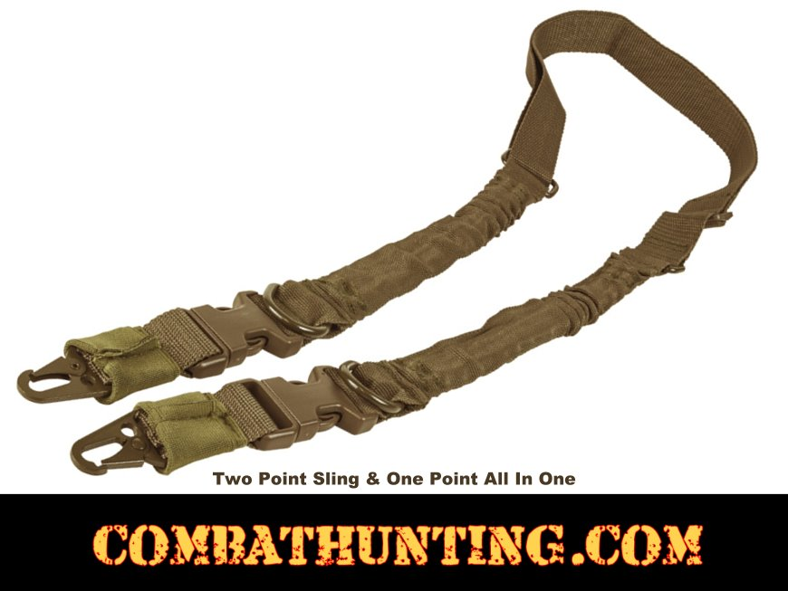 Two Point Sling QD Tan/FDE style=