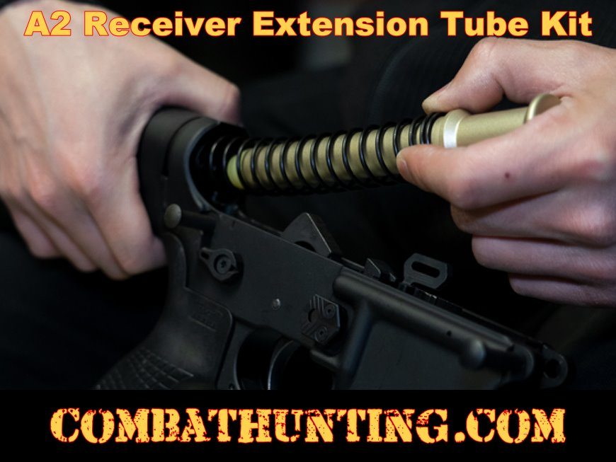 A2 Receiver Extension Kit Buffer Tube Assembly style=