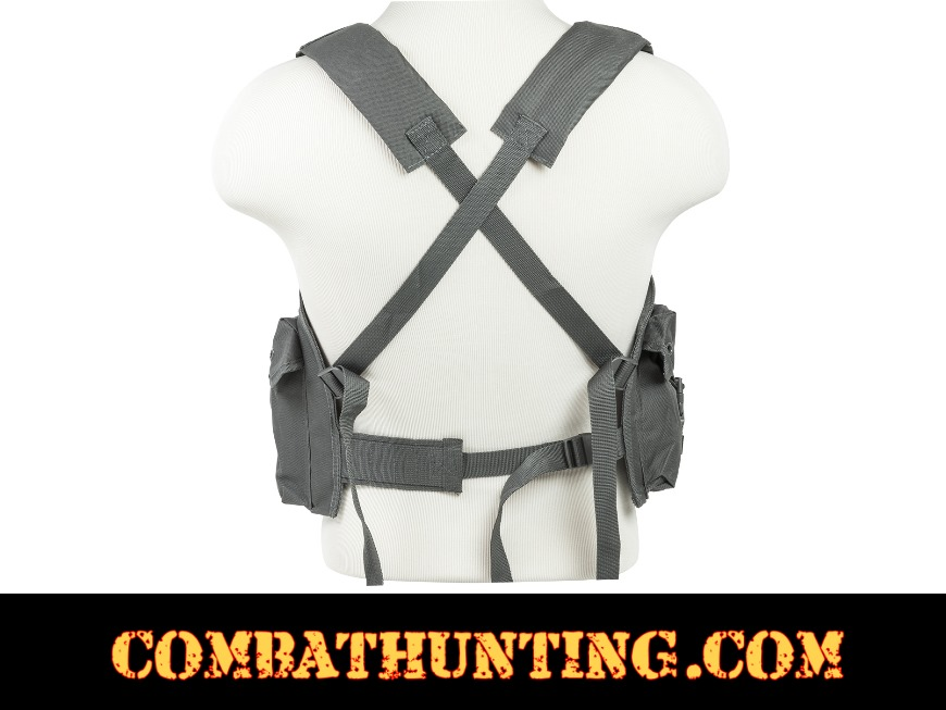 AK Chest Rig Urban Gray style=