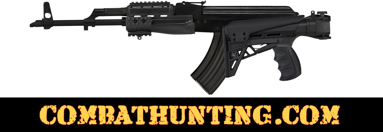 AK-47 Strikeforce Stock Six Position Adjustable Side Folding Tactical Stock style=