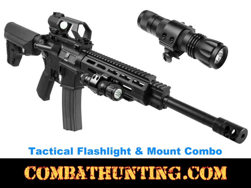 Tactical Flashlight 3 Watt Ultra-Bright CREE LED style=