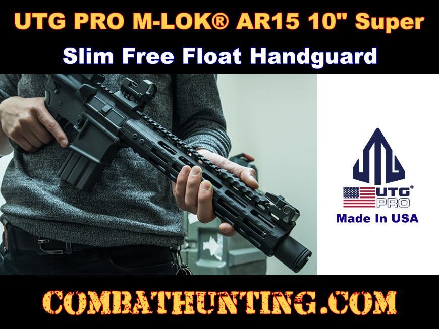 UTG PRO M-LOK AR15 10
