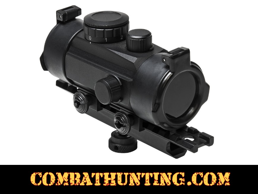 M4cmrd Ar 15 Carry Handle Red Dot Sight And Mount Combo