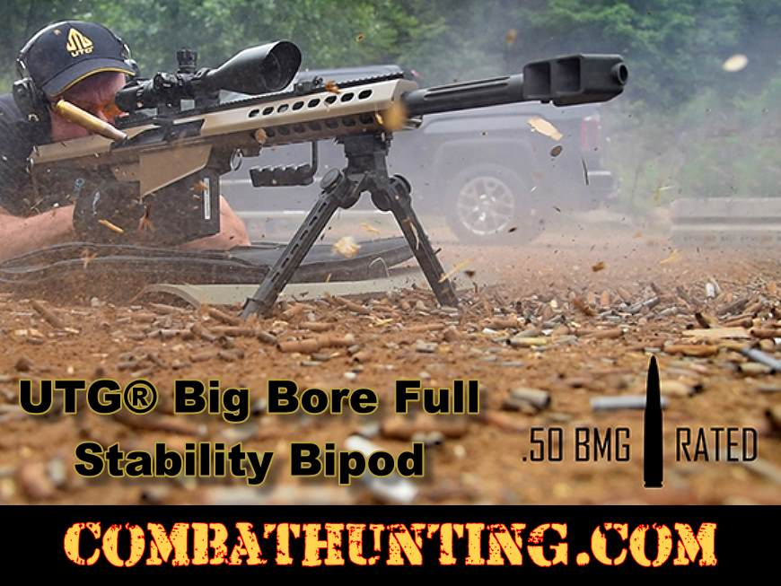 UTG Big Bore Full Stability Bipod 9