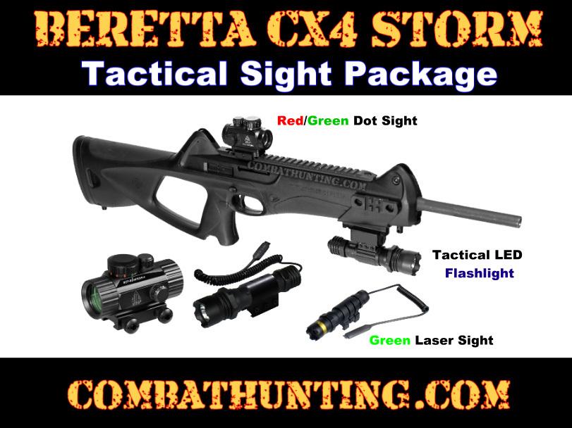 Beretta CX4 Storm Tactical CQB Sight Kit