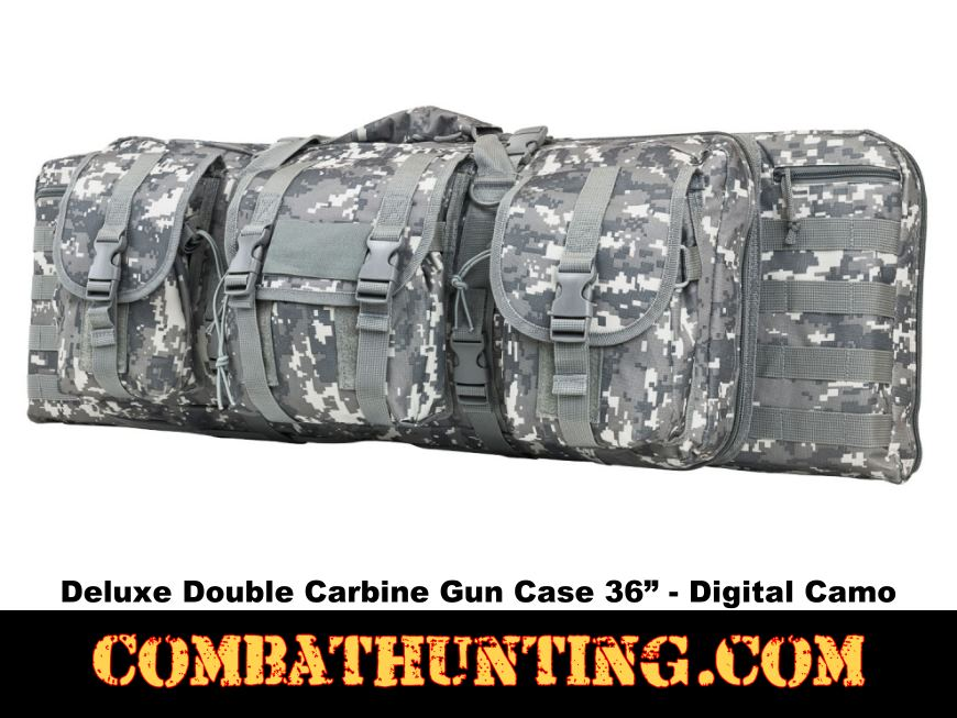 Double Carbine Case 36 Inches Digital Camo style=