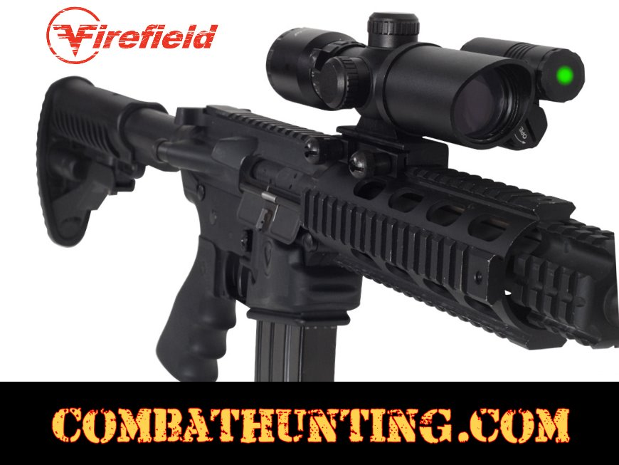 Ff13017 Firefield 1 5 5x32 Rifle Scope With Green Laser