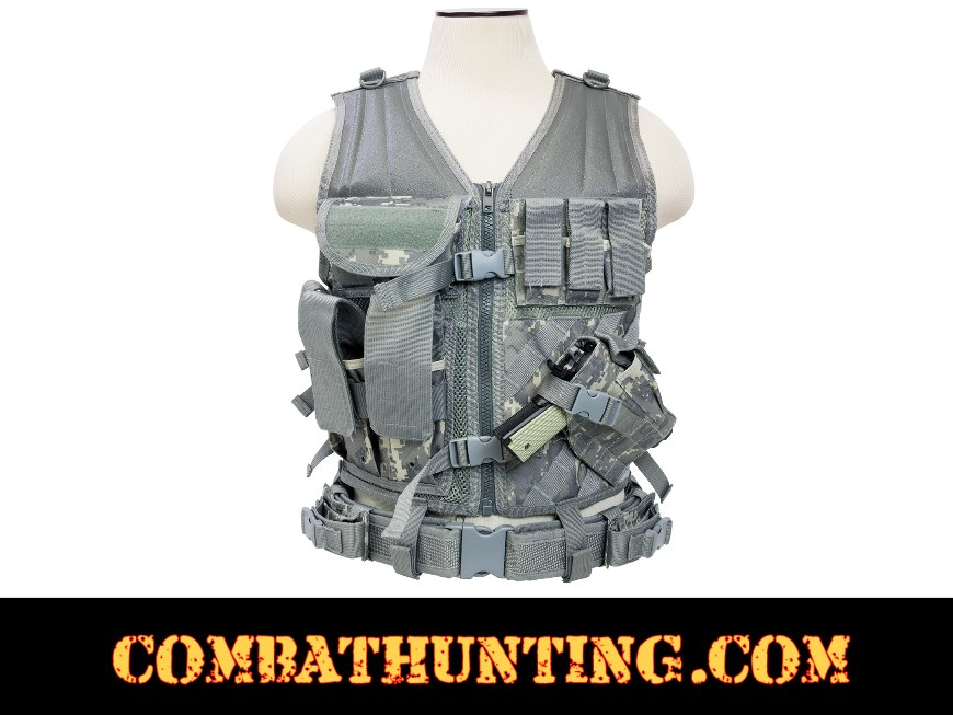 Ncstar Military Tactical Vest Acu Digital style=