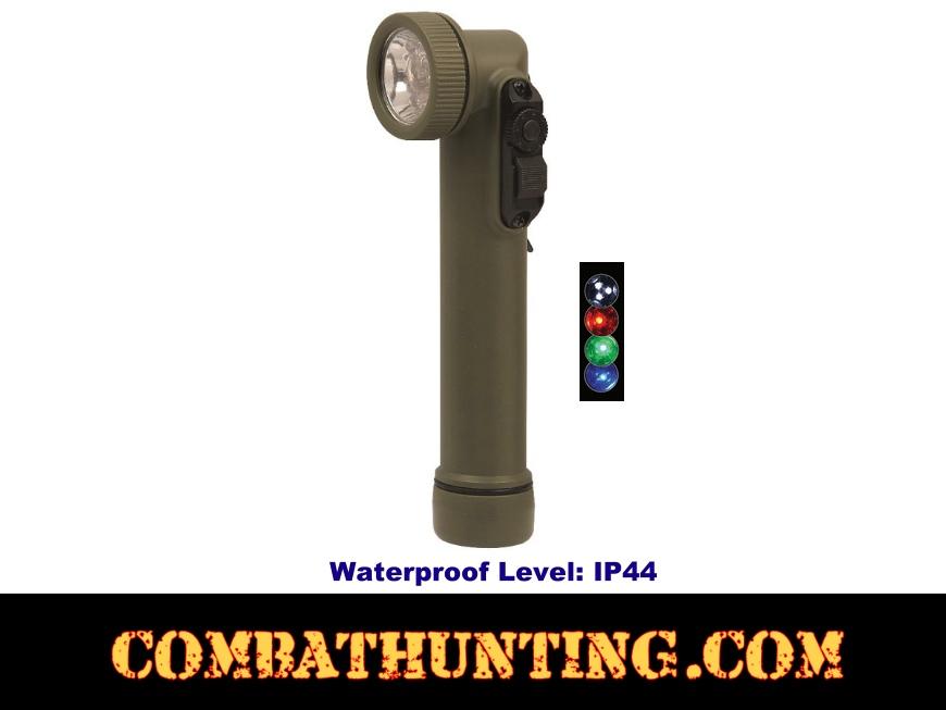 527 Mini Military Style Anglehead Flashlight Led Led