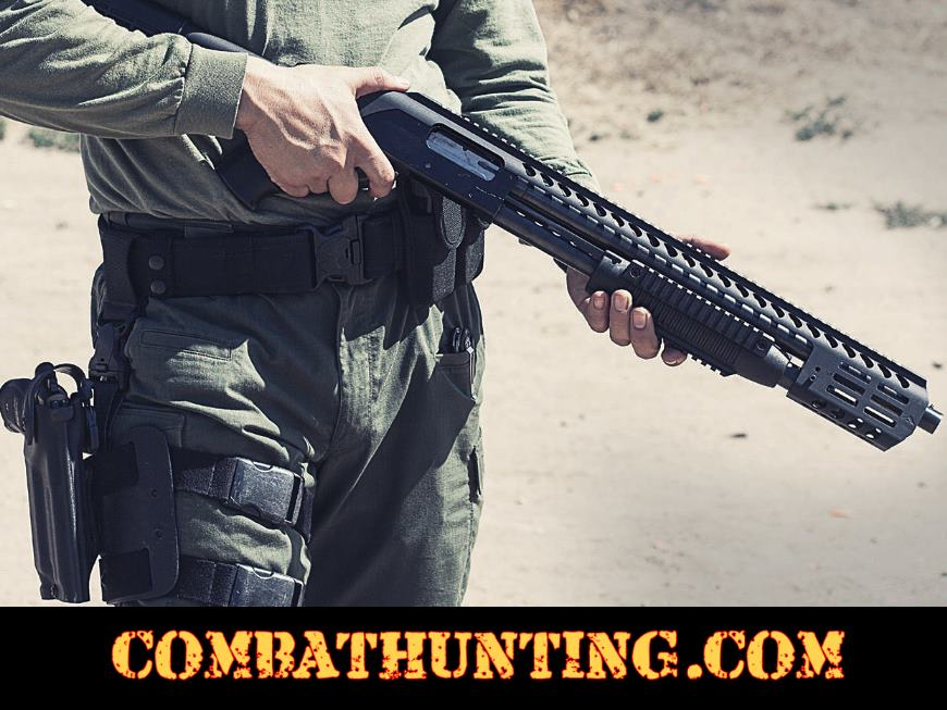 Mossberg 500 Tactical Picatinny Rail System With M-Lok Handguard style=