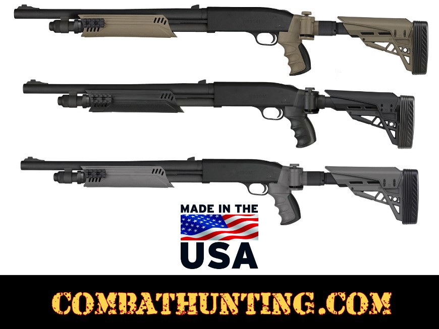 Mossberg 500/535/590/835 Stock and Forend In Black style=