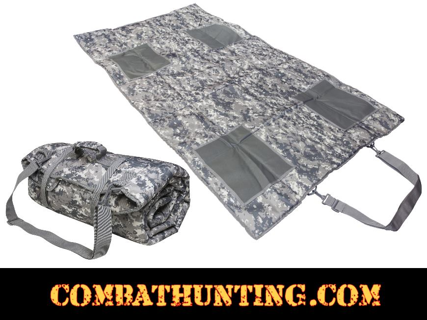 Roll Up Padded Shooting Mat ACU Digital Camo style=
