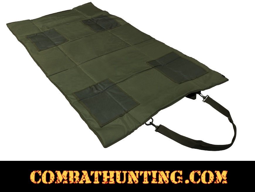 Ncstar Roll Up Shooting Mat In Tan / Flat Dark Earth style=