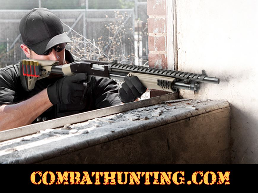 Remington 870 Tactical Stock and Forend Package In FDE style=