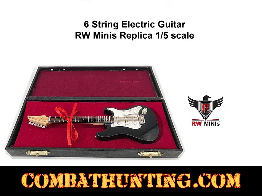 Replica 6 String Electric Guitar With Case style=