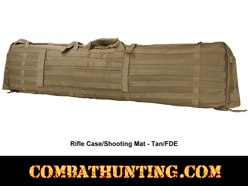 Rifle Case Shooters Mat Tan/FDE style=