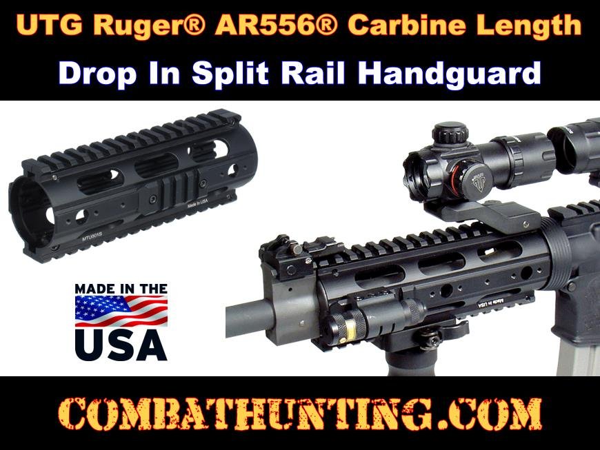 Ruger AR-556 Handguard Upgrade With Rails style=