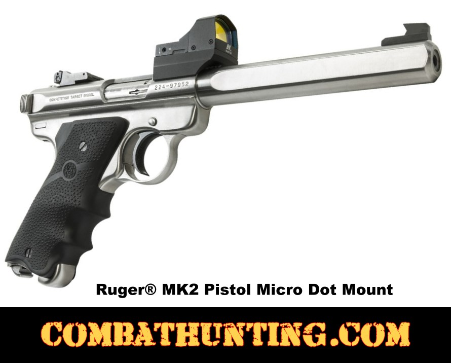 NcSTAR Ruger MK2 Pistol Micro Dot Mount  style=