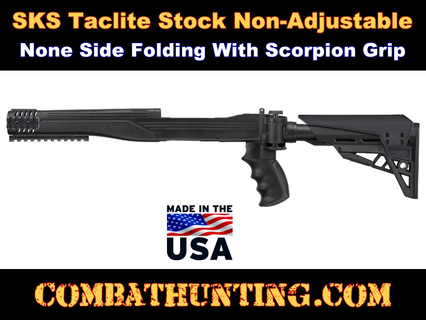 SKS Strikeforce Stock Non-Adjustable Non-side Folding style=