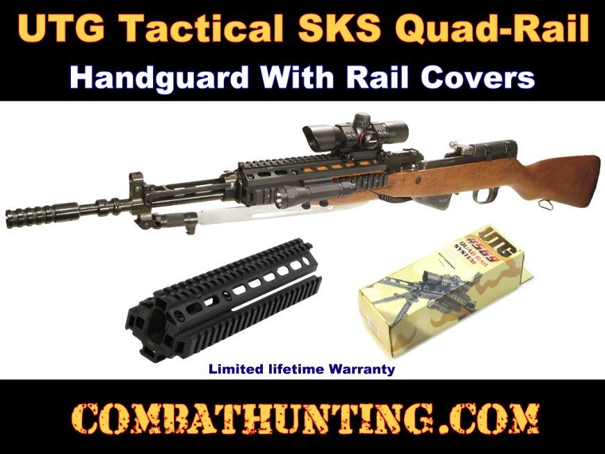 Mnt Hg59sa Qr Sks Rifle Quad Rail Handguard Quad Rails