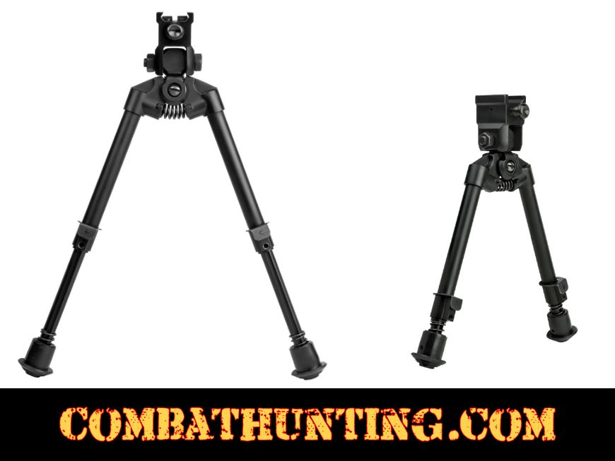 Tactical Rifle Universal Bipod With Quick Release Mount style=