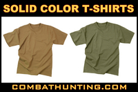 Solid Color T-Shirts