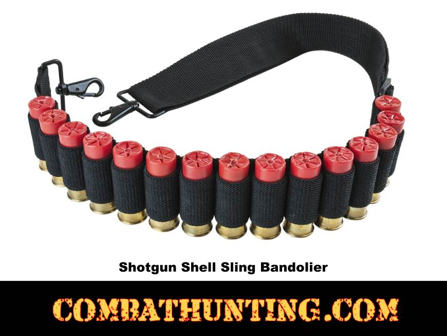 Tactical Shotgun Sling with Shellholder style=