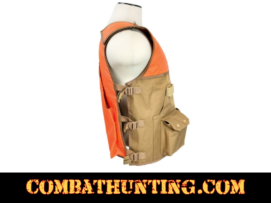 Upland Hunter's Field Vest With Game Bag style=