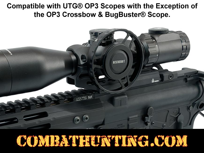 UTG® Parallax Index Wheel for OP3 Scopes 80mm Diameter style=