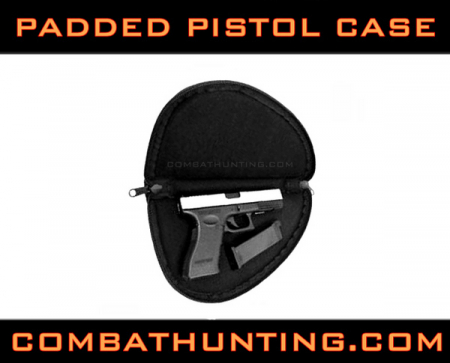 Padded Pistol Case Black