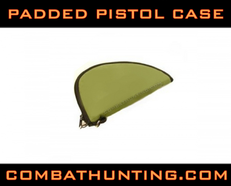 Padded Pistol Case OD Green
