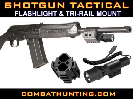 Saiga 12, Vepr 12 Shotgun Weapon Light Mount Kit