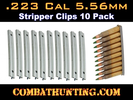 Ruger Mini 14 .223 Stripper Clips Set of 10 New