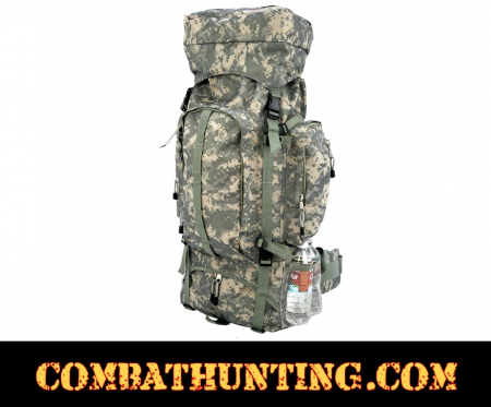 Digital Camo Water-Resistant Heavy-Duty Mountaineer's Backpack